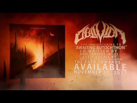 Oblivion - Awaiting Autochthon(LYRIC VIDEO)