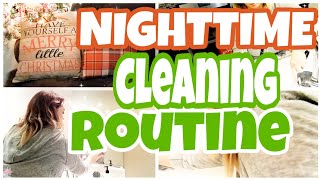 EVENING CLEANING ROUTINE/COLLAB WITH CRYSTAL CLEANS