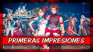Vídeo Blade Arcus from Shining: Battle Arena
