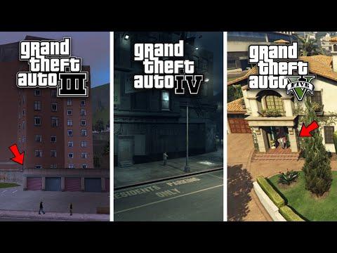 Evolution Of Safehouses In GTA Games!
