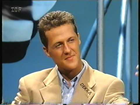 Schumacher bei Jauch '94 - Aktuelles Sportstudio (1/2)