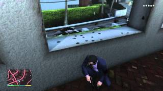 GTA V - Unreachable by Police (5 star wanted level)