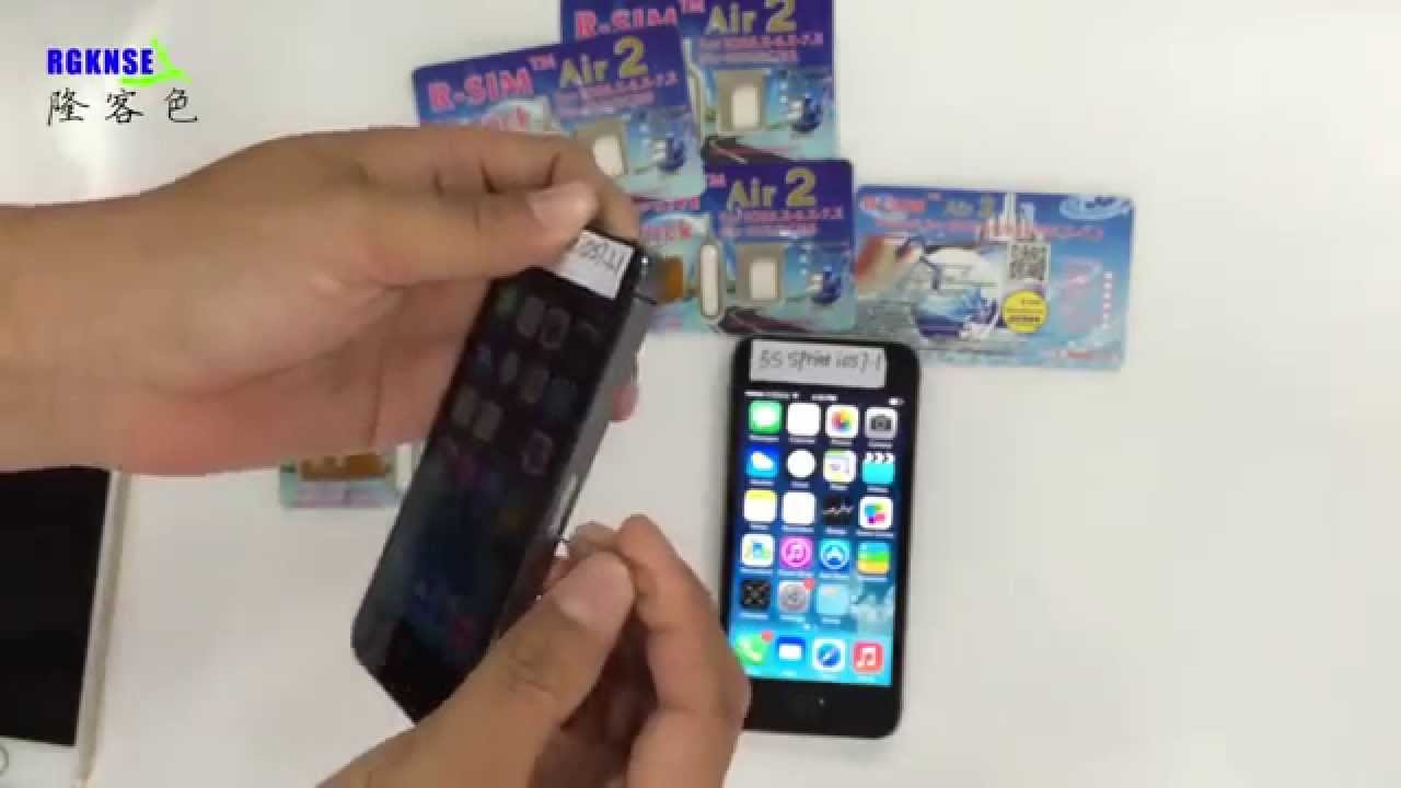 removing sim card from iphone 5c r sim air2 unlock for sprint iphone 5s 5c 5 4s ios8 x 19434