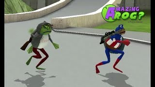 The Amazing Frog? - Playing Tag Is So Much Fun!!! - Part 82
