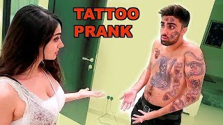 CRAZY TATTOO PRANK ON ARAB FAMILY *GONE WRONG* !!!