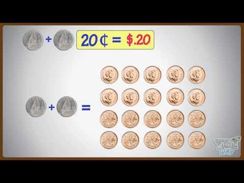 Matching Cents To Dollars | Math | Grade-2 | TutWay |