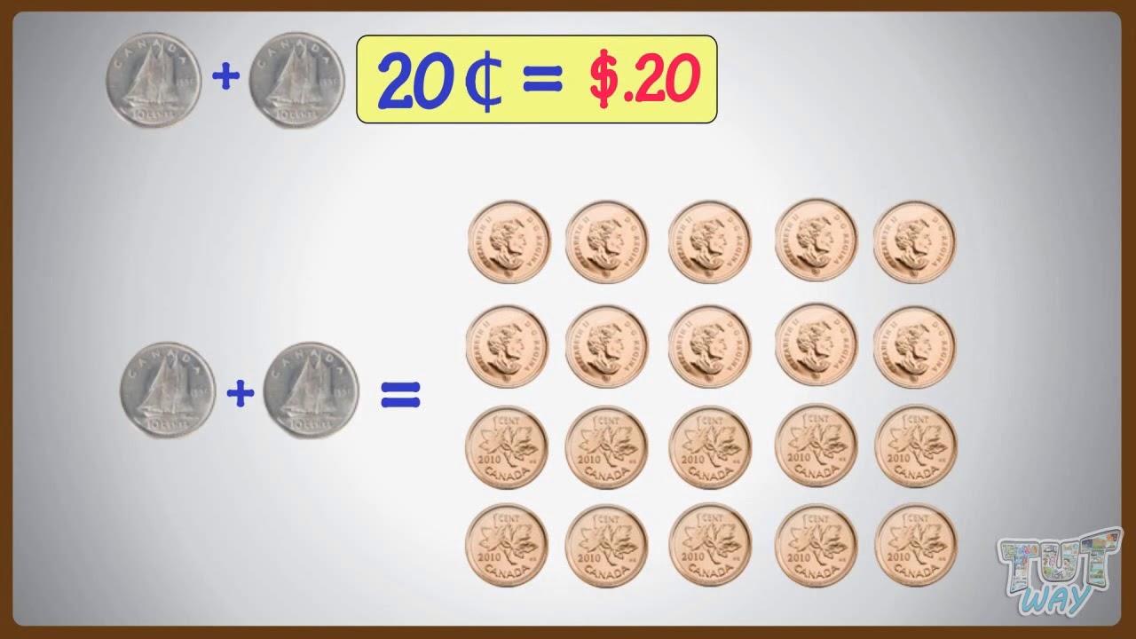 Matching Cents To Dollars  Math  Grade-23  TutWay