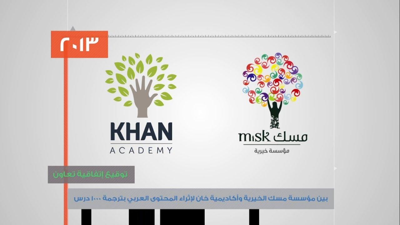 مبادرة مؤسسة مسك الخيرية بترجمة مقاطع أكاديمية خان إلى اللغة العربية