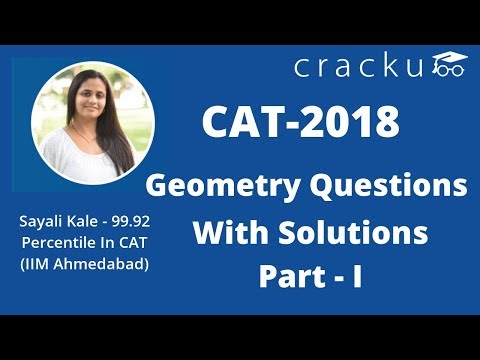 CAT Previous year geometry questions with tricks/shortcuts | Part- 1