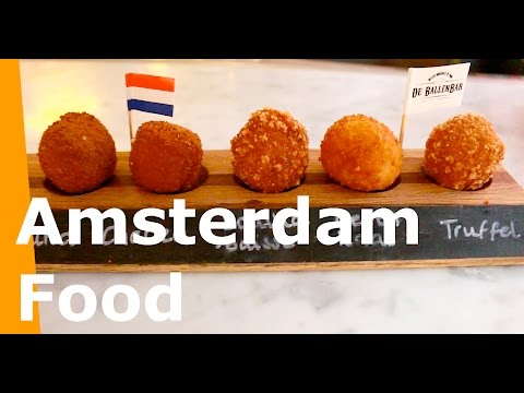 Amsterdam Food - Top 4 Amsterdam Foods you must try