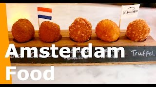 Best of Amsterdam Food | Apple Pie, Pancakes, Tosti, Bitterballen | Dutchified Everybobby