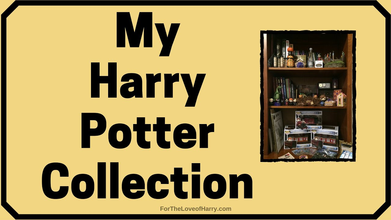 a look at my collection of harry potter stuff youtube. Black Bedroom Furniture Sets. Home Design Ideas