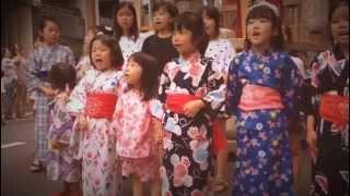 【2013祇園祭】蟷螂山・粽売りのわらべ歌 http://viddy.it/rBnDz8.