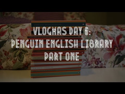 Vlogmas Day 6: Penguin English Library Collecion Part 1