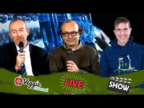 """Ercole La Manna """"Feel Free"""" e """"European Consumers"""", acque contaminate - Veggie Channel LIVE Show"""