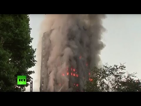 Thumbnail: West London Grenfell Tower on fire, multiple casualties confirmed (Recorded LIVE FEED)