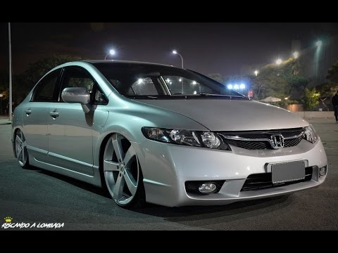 Honda Civic Rebaixado Os Mais Top S Da Net Youtube