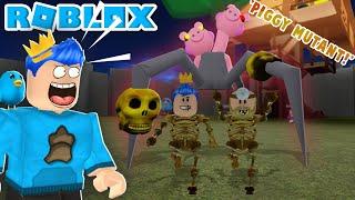 Download KITA BERHASIL MENEMUKAN THE SPIDER PIGGY MUTANT!!! ROBLOX MUTANT PIGGY SURVIVAL