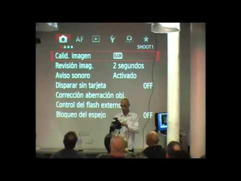 Curso práctico CANON EOS 5D Mark III por Canon CPS - FotoWeekPro 2012