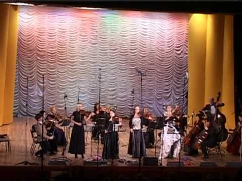 Vivaldi: 4 violin concerto, 1st movement / Rachlevsky • Chamber Orchestra Kremlin