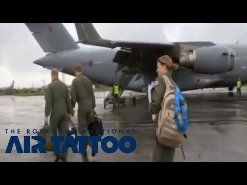 The Royal International Air Tattoo on Inside RAF Brize Norton Episode 6, Sky1 HD