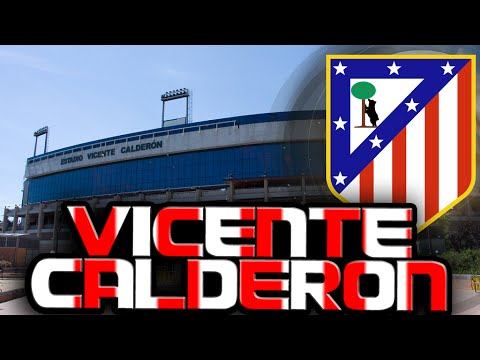 ATLETICO MADRID VICENTE CALDERÓN STADIUM MUSEUM TOUR