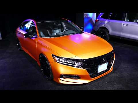 New 2018 Honda Accord - Galpin Auto Sports Custom Car - 2017 LA Auto Show, Los Angeles CA