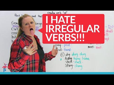 Irregular Verbs in English – Groups 1 & 2