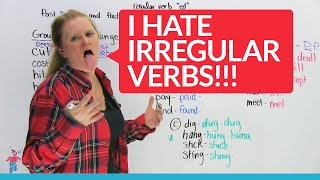 Irregular Verbs In English – Groups 1 & 2