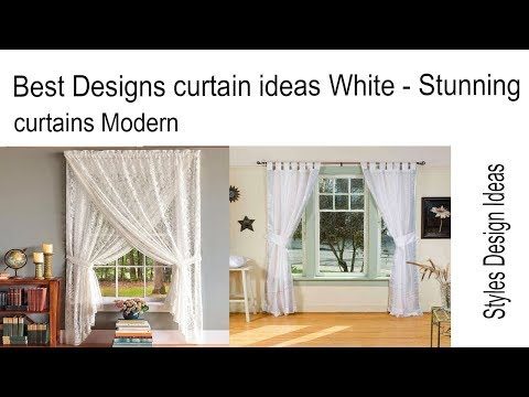 Best Designs curtain ideas White - Stunning curtains Modern