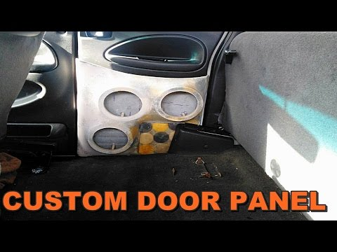 DODGE RAM FIBERGLASS DOOR BUILD - RESIN AND BONDO