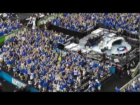 Kentucky Student Section Flash Mob - 2012 NCAA Final Four