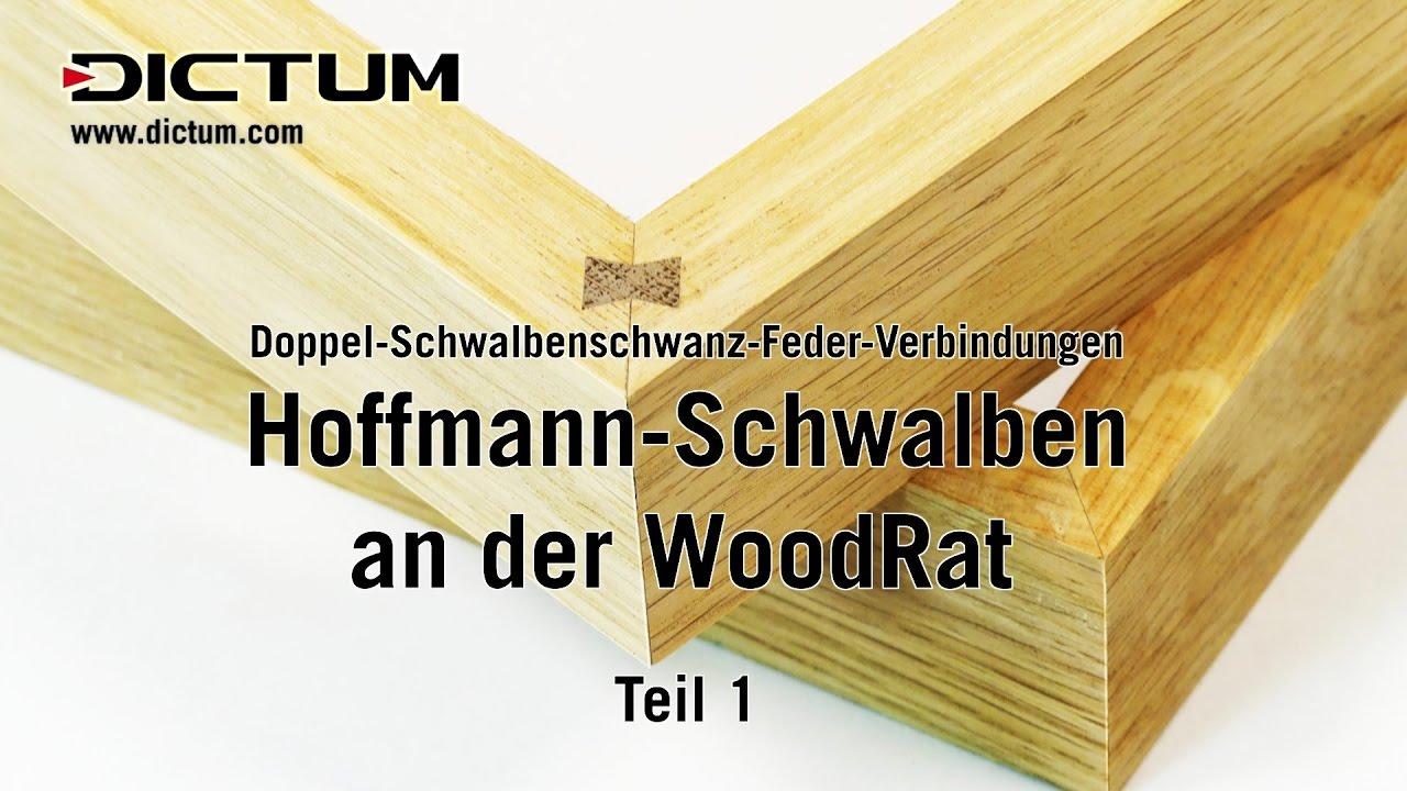 Hoffmann Schwalben An Der Woodrat Teil 1 Eckverbindungen Auf
