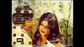 Hal e dil aj hum sunayen ge ( Pakistani Chirag Kahan Roshni Kahan ) Karaoke with lyrics by Hawwa