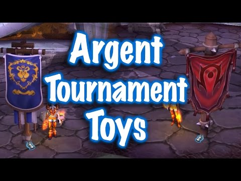Jessiehealz - Argent Tournament Toys Guide (World of Warcraft)