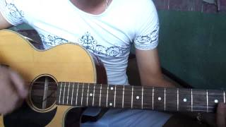Âm thầm bên em ( M-TP)  cover guitar -Michael Hau
