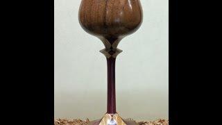 Wood Turning - Segmented Goblet