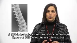 Prevalencia de las lesiones de espalda
