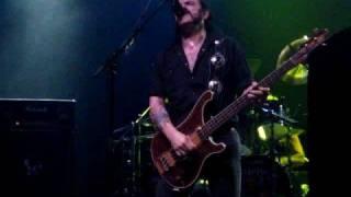 Motorhead Rosalie Thin Lizzy cover NYC 9-20-08 Roseland, NYC