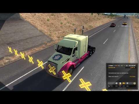 American Truck Simulator - Visiting New Mexico (Beta 1.29)