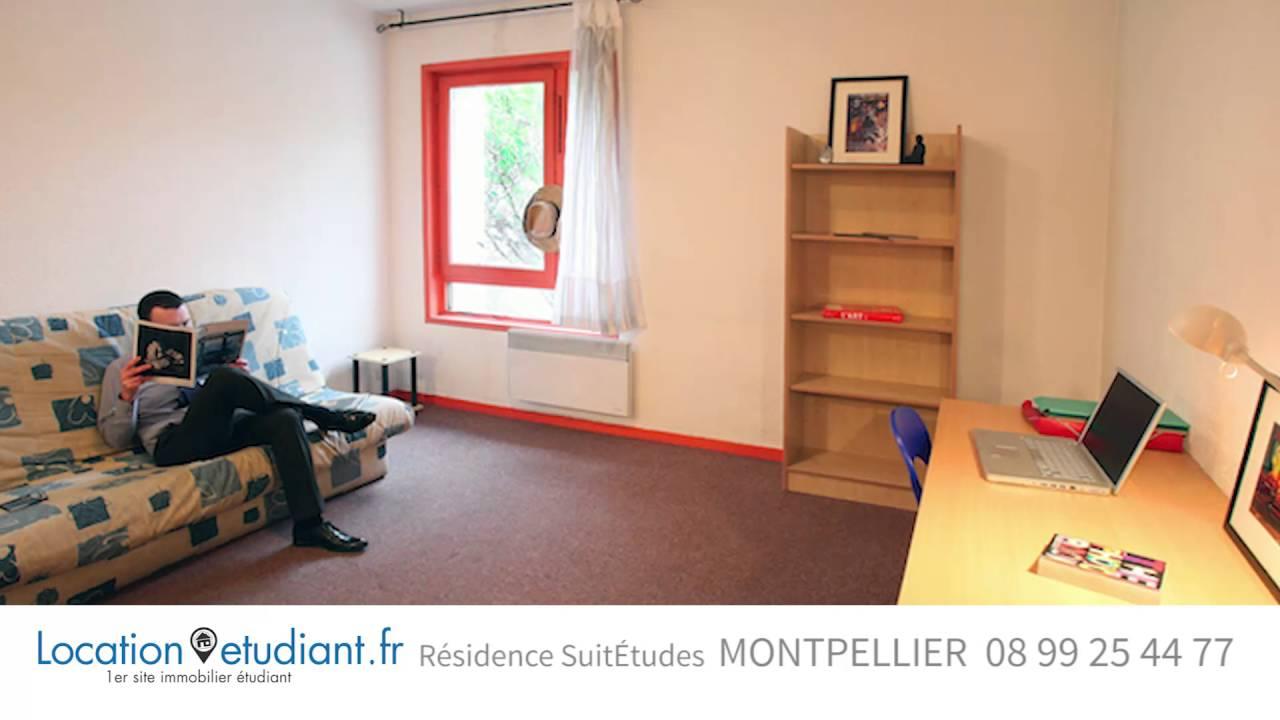 Logement étudiant Montpellier Les Moulins 1 SuitÉtudes