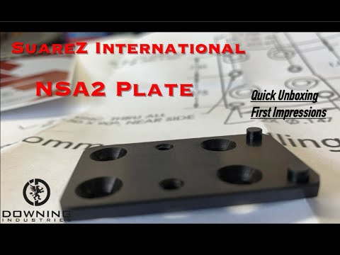 Suarez International NSA2 Plate