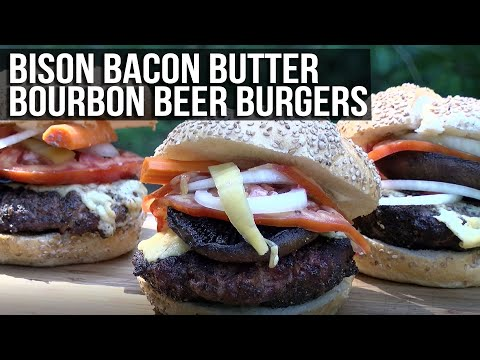 Bison Bacon Butter Bourbon Beer Burgers