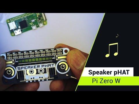 Raspberry Pi Zero  Streaming Airplay using  Speaker pHAT