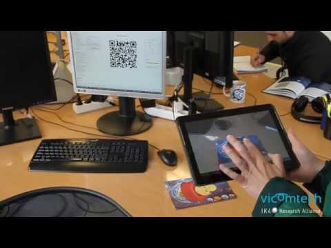 Augmented reality based e-learning platform