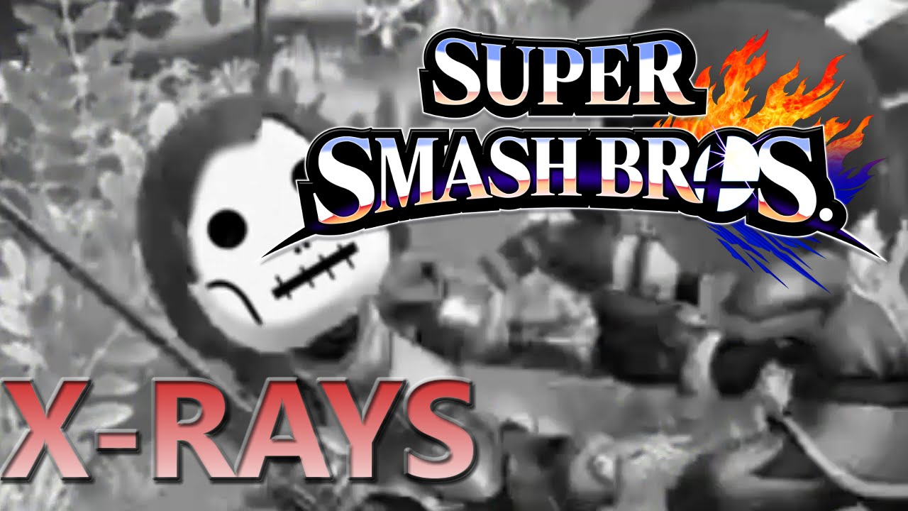 super smash bros xrays youtube