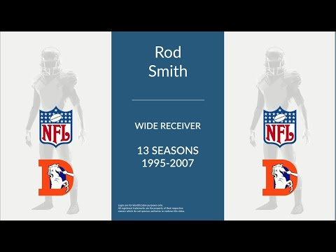 Rod Smith: Football Wide Receiver