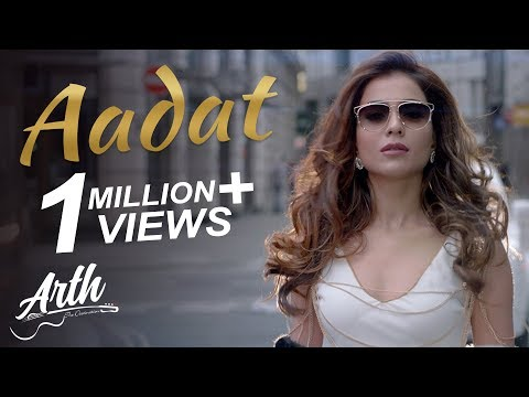Aadat Full  Song  Arth The Destination  Humaima Malik, Sana Zulfiqar