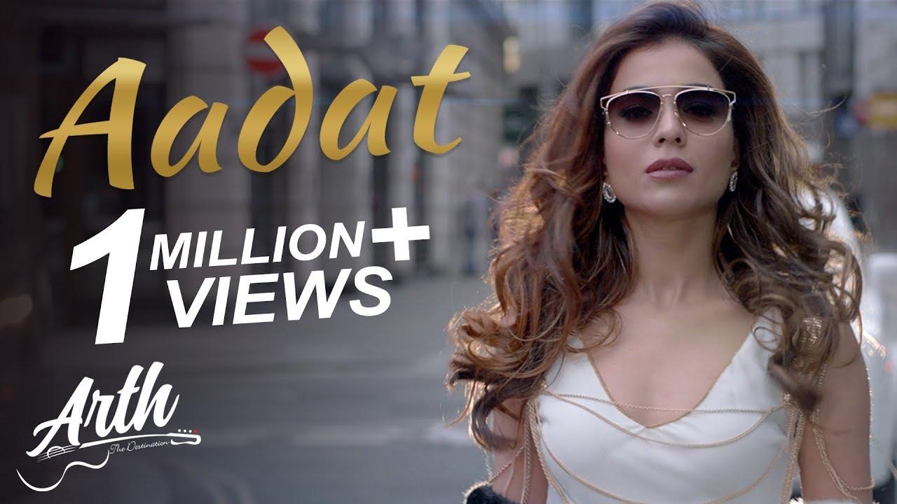 Humaima Malik Sexy Pics Best aadat full video song | arth the destination | humaima malik, sana
