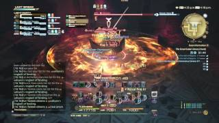 FFXIV: Heavensward Gameplay - 111 - Black Mage - The Great Gubal Library (Hard)